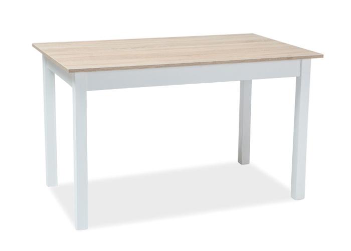 Jatkettava ruokapöytä Horacy 60x100-140 cm tammi sonoma/valkoinen