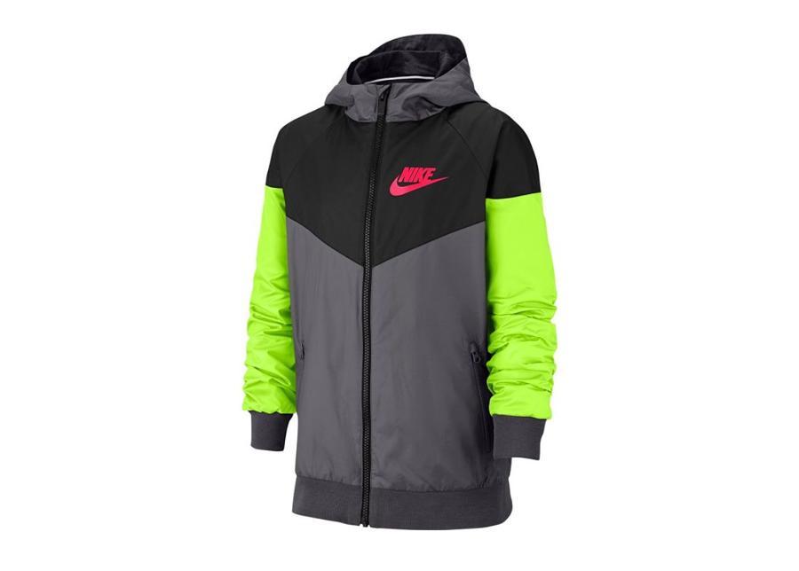 Lasten kuoritakki Nike Nsw Windrunner Jacket Jr 850443-021
