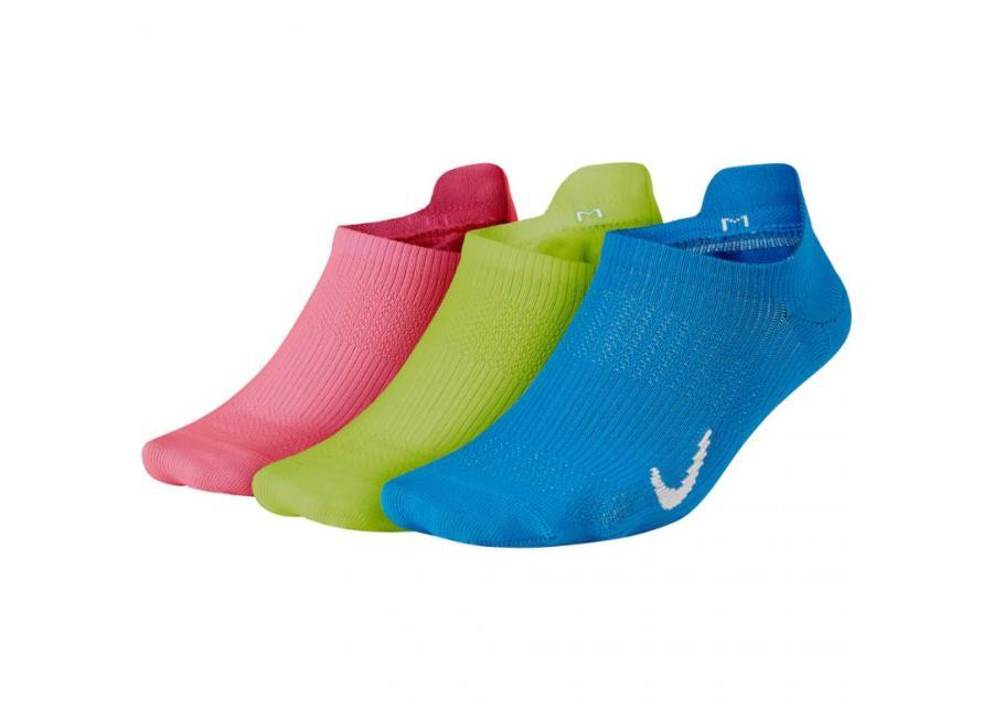 Naisten sukat 3 paria Nike Everyday Plus LTWT NS 3PR W SX7069 910