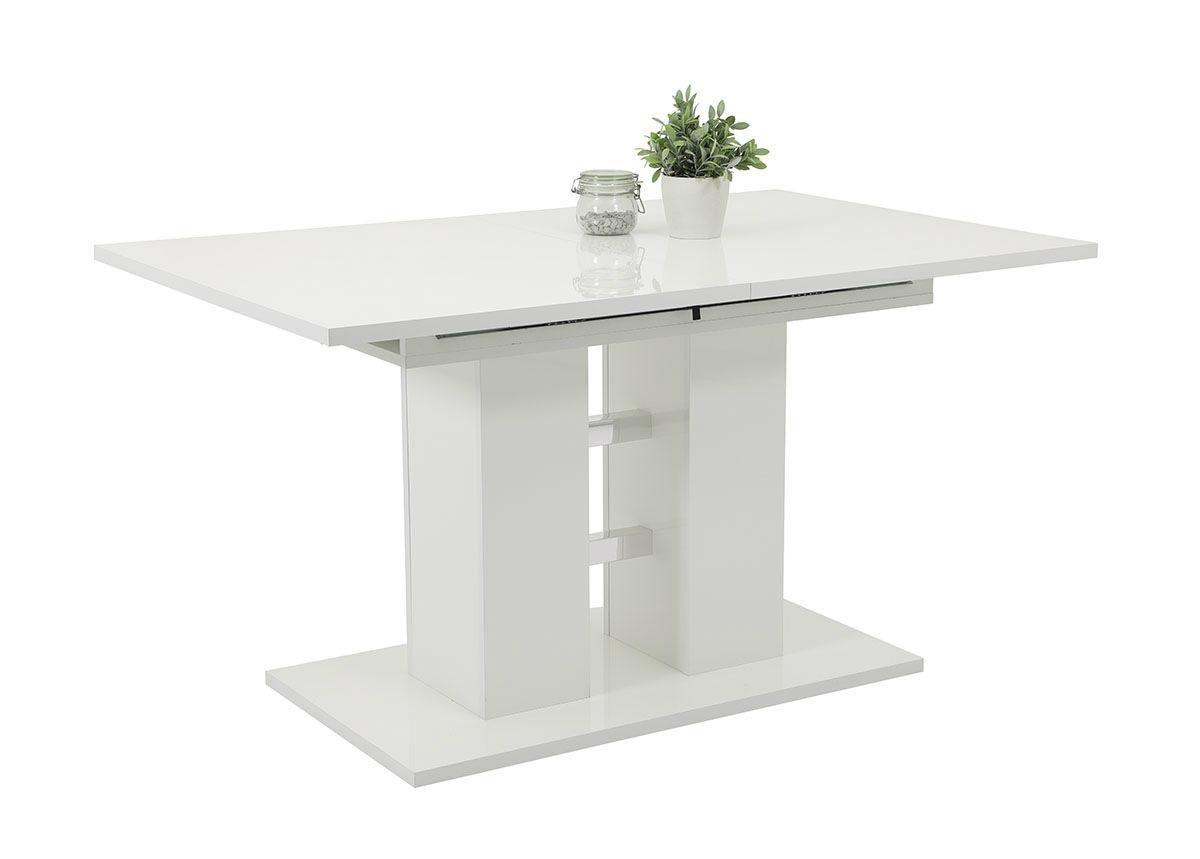 Jatkettava ruokapöytä Alina 90x140-200 cm