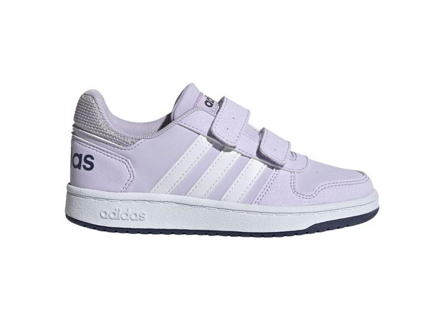 Lasten vapaa-ajan kengät Adidas Hoops 2.0 CMF Jr EG3771