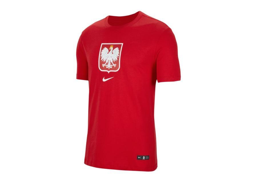 Lasten jalkapallopaita Nike Polska Crest Jr CU1212-611