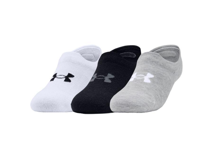 Aikuisten urheilusukat 3 paria Under Armour Ultra Lo Socks 1351784-100