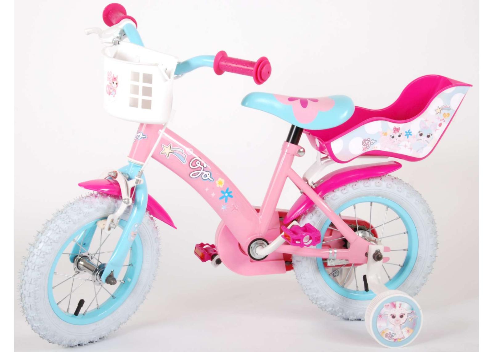 Kolmirattainen tyttöjen polkupyörä 12-tuumainen OJO Volare