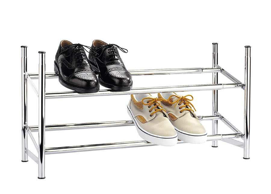 Jatkettava kenkäteline