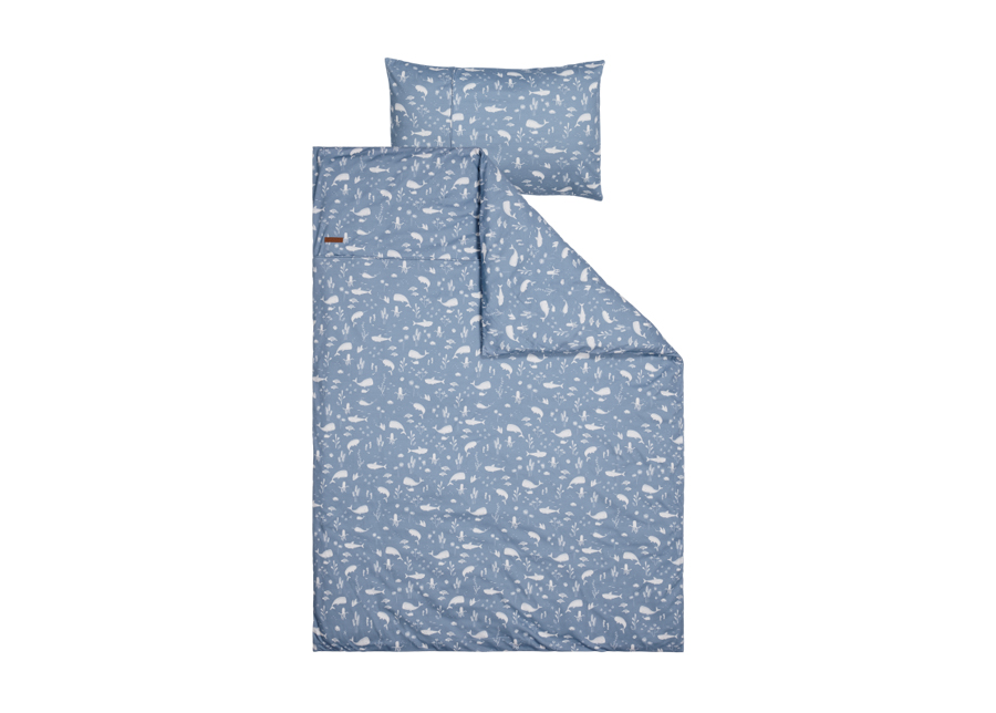 Pussilakanasetti Ocean Blue 100x140 cm