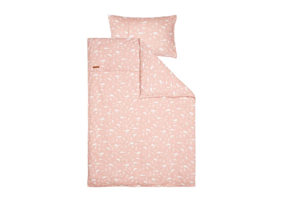 Pussilakanasetti Ocean Pink 100x140 cm