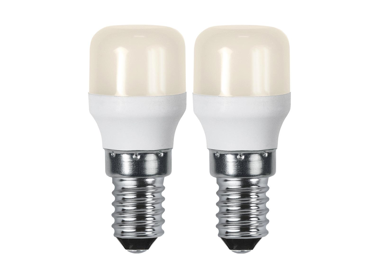 LED sähkölamput E14 1,4 W 2 kpl