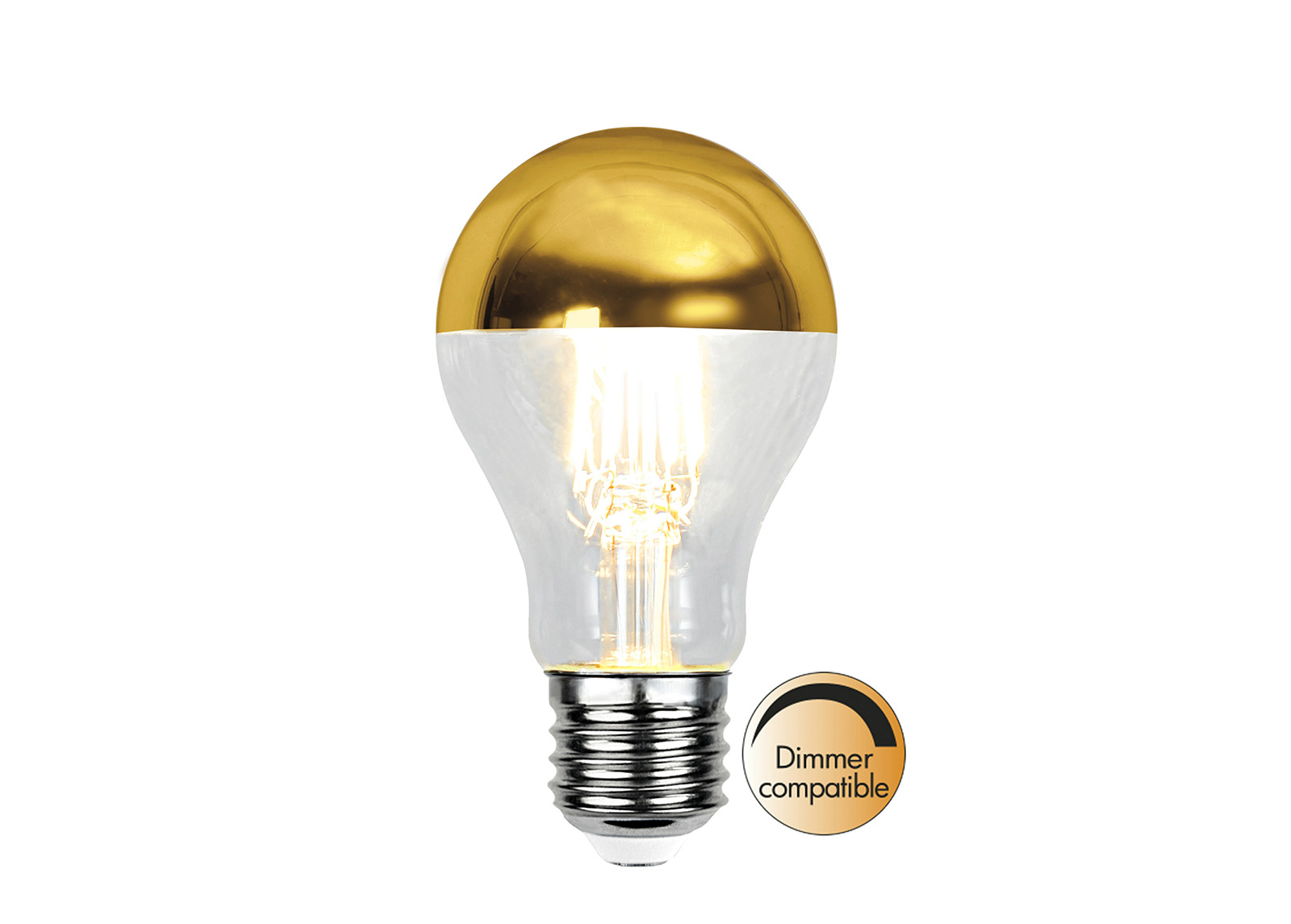 LED-sisustuslamppu E27 4 W