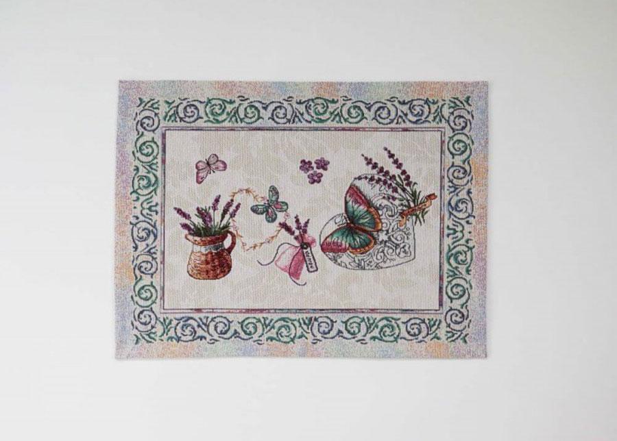 Gobeliinikangas pöytäliina/pöytätabletti Violet 35x48 cm