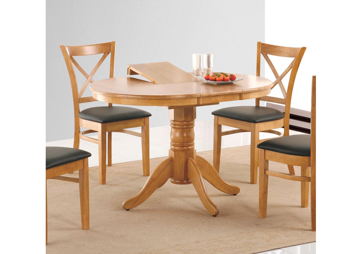 Jatkettava ruokapöytä MIX & MATCH 90x90+30 cm