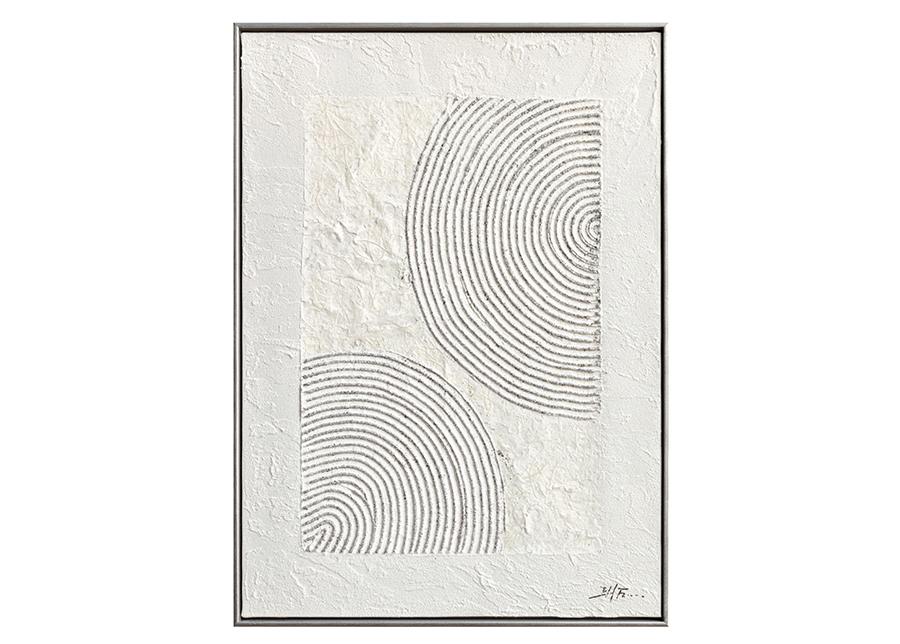 Öljymaalaus kehyksellä Renkaat 50x70 cm