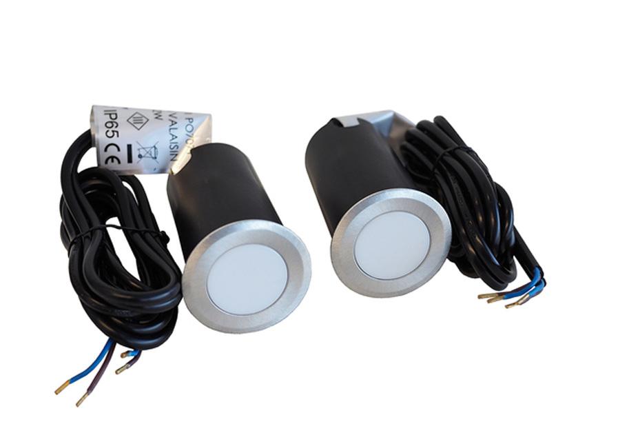 Ulkovalot 2 kpl LED