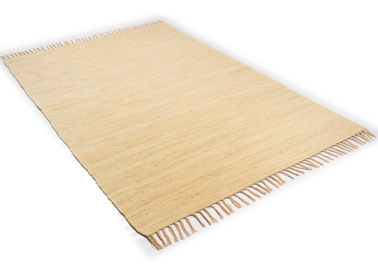 Matto Happy Cotton 90x160 cm, luonnonvalkoinen