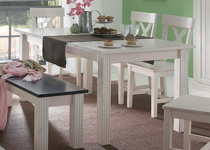 Jatkettava ruokapöytä Monaco 401 90x160-204 cm