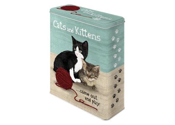 Peltipurkki CATS ANS KITTENS 4 L