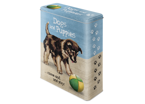Peltipurkki DOGS ANF PUPPIES 4 L