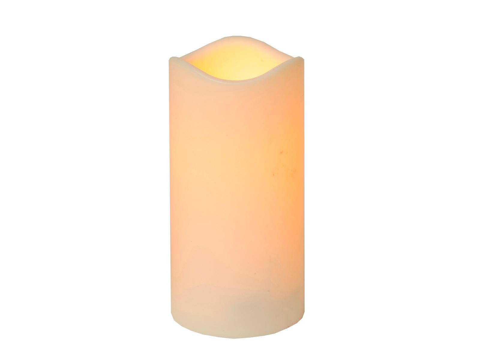 LED kynttilä ajastimella 15 cm