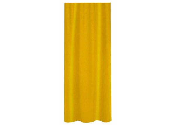Suihkuverho SPIRELLA PRIMO keltainen tekstiili