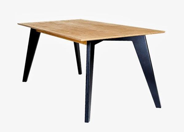 Radis ruokapöytä Huh 85x150 cm