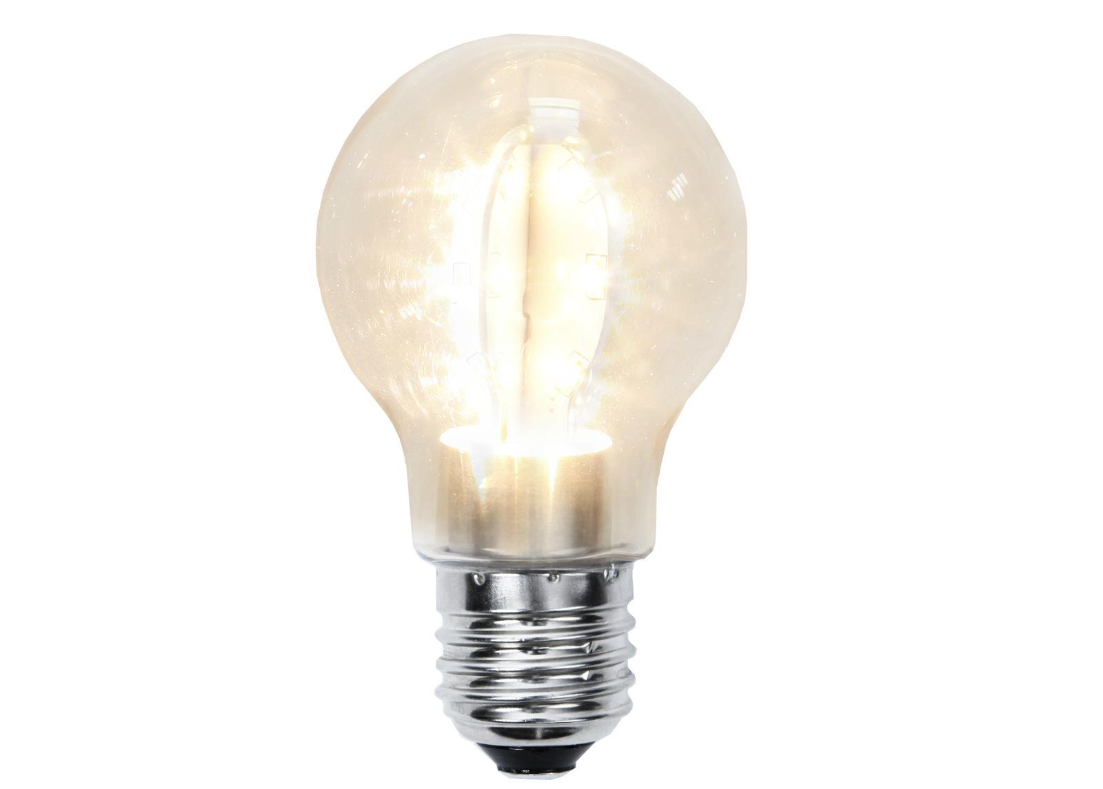 Dekoratiivinen muovinen LED-lamppu valoketjuun