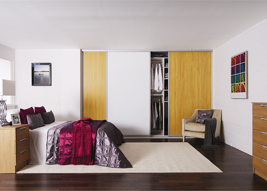 Liukuovet Prestige, 3- melamiiniovea 241-300x255 cm