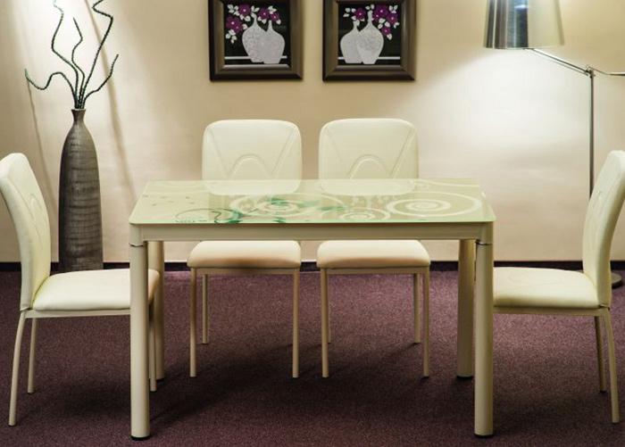 Ruokapöytä DAMAR 100x60 cm