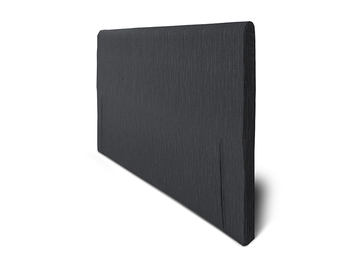 Kangasverhoiltu sängynpääty Hypnos joustinsänkyyn mini Slim 80x65x6 cm