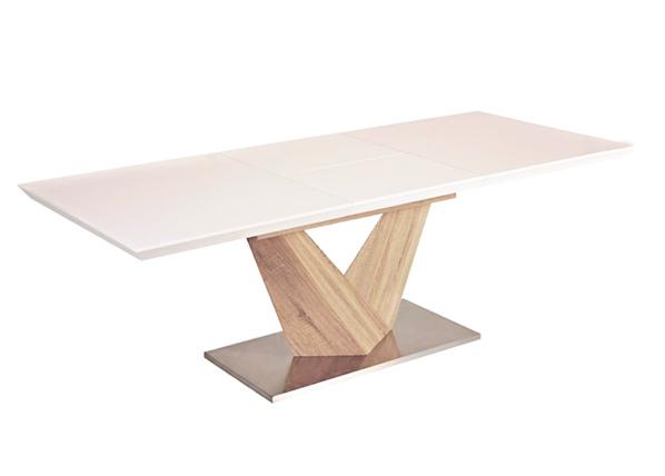 Jatkettava ruokapöytä ALARAS 90x160-220 cm