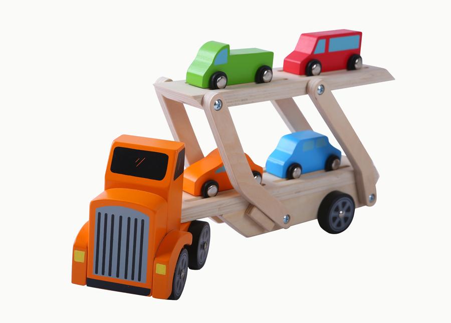 Puinen autotraileri