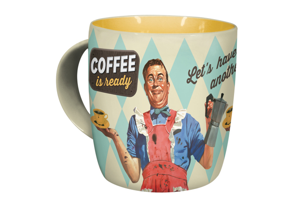 Muki COFFEE IS READY