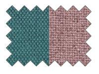 Etna 85 türkiissinine/ seljatoe- ja dekoratiivpatjad Aura 21 roosa