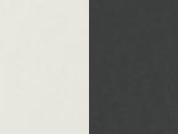 valkoinen kiiltävä/ antrasiitti